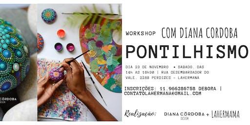 Workshop  pontilhismo com Diana Cordoba