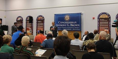 Conversation with Congressman Brown in Crownsville tickets