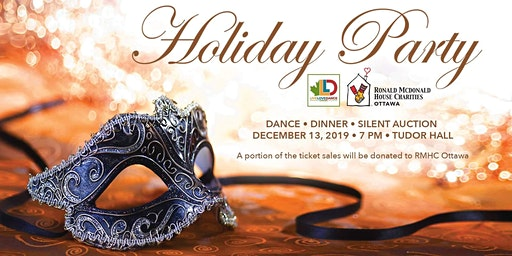 OTTAWA HOLIDAY PARTY (in support for) RONALD MCDONALD HOUSE CHARITIES