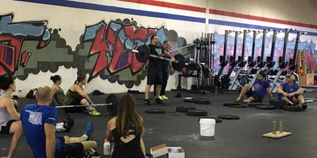 CrossFit Brownsville Cohen Olympic Weightlifting Seminar tickets