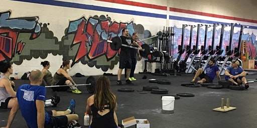 CrossFit Brownsville Cohen Olympic Weightlifting Seminar