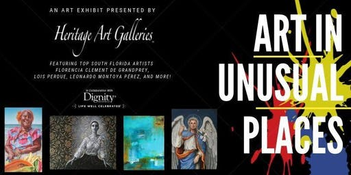 Art In Unusual Places | An Art Exhibit by Heritage Art Galleries