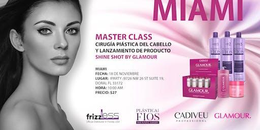 Master Class Cirugía Plástica  del Cabello y Lanzamiento de Producto