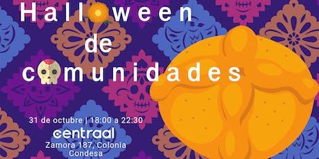 Halloween de comunidades CDMX entradas