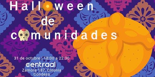 Halloween de comunidades CDMX