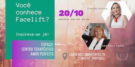 Classe de Facelift Energético - Fabiana Shyton e Ana Paula Tomás tickets