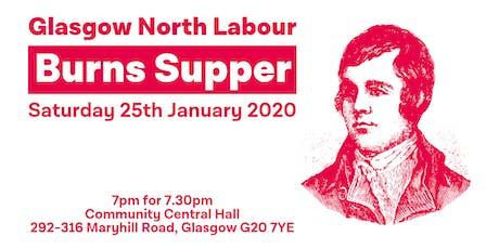Glasgow North Labour Burns Supper tickets