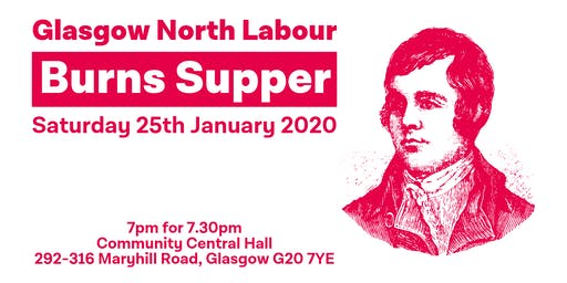 Glasgow North Labour Burns Supper