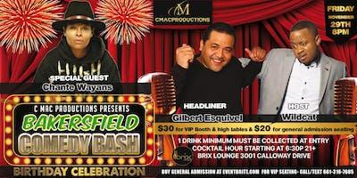 Bakersfield Comedy Bash Birthday Celebration