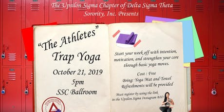 """""""The Athletes""""- Trap Yoga with YSIG tickets"""