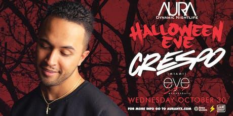Halloween Eve ft. Crespo, Aura Wednesday Edition  10.30.19  tickets