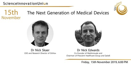 The Next Generation of Medical Devices tickets
