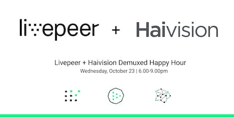 Livepeer - Haivision Demuxed Happy Hour tickets