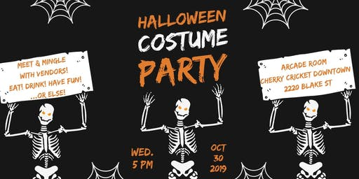 Spooktober Agent Meet & Greet Party