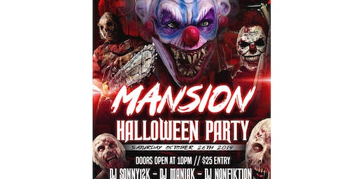 Halloween Mansion Party