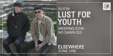 Lust For Youth @ Elsewhere (Zone One) tickets