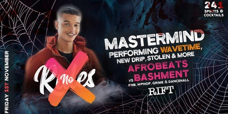 NO RULES Halloween ft. MASTERMIND tickets
