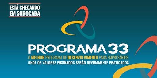 PROGRAMA 33 - Palestra Informativa