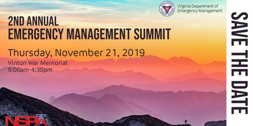 NSPA & VDEM Emergency Management Summit