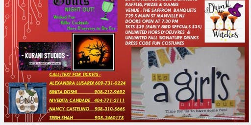 Girls Night Out Costume Party