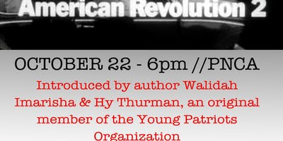 Screening of American Revolution 2 intro by Walidah Imarisha & Hy Thurman