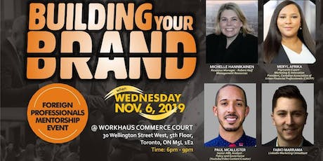 """Building Your Brand"" Event tickets"