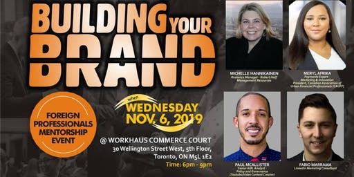 """Building Your Brand"" Event"