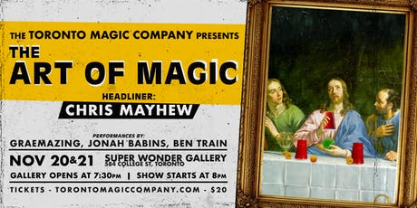 The Art of Magic with headliner Chris Mayhew tickets