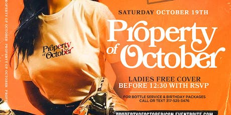 PROPERTY of OCTOBER tickets