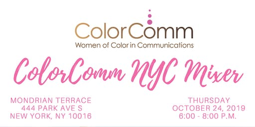 ColorComm NYC Presents: The ColorComm NYC Mixer