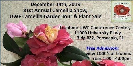 Pensacola Camellia Club Flower Show, Garden Tour & Plant Sale tickets
