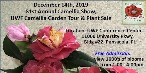 Pensacola Camellia Club Flower Show, Garden Tour & Plant Sale