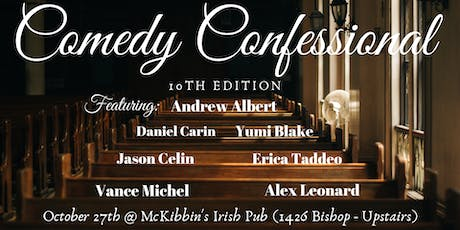 Comedy Confessional tickets