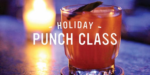 Holiday Punch Class at Punch House