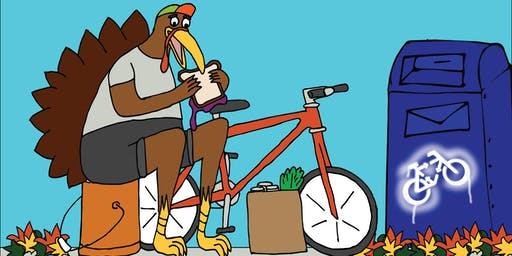 CRANKSGIVING 2019: Bicycle Food Drive to Benefit Amos House