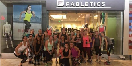 FABLETICS FREE- OCTOBER SWEAT AND SHOP tickets