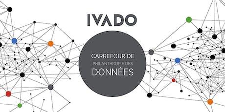 3e édition du Carrefour de philanthropie des données (en français) billets