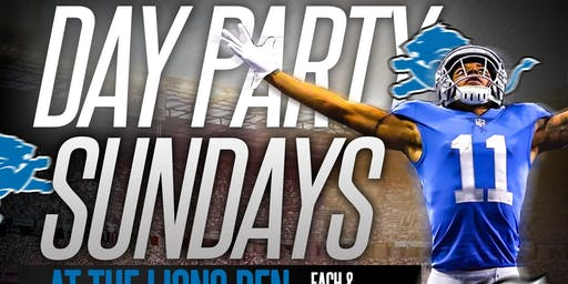 Day Party Sundays 5pm-10pm