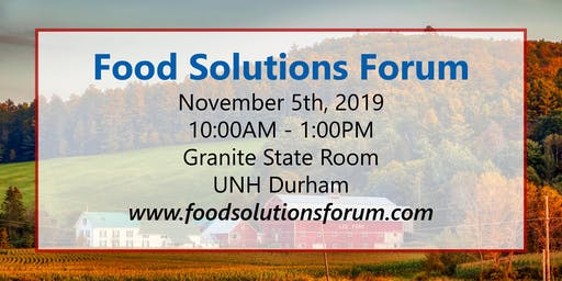 Food Solutions Forum