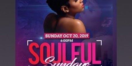Soulful Sundays tickets
