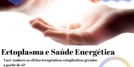 """Palestra na Leitura Américas Shopping: """"Ectoplasma e Saúde Energética."""" ingressos"""