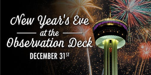 New Year's Eve at the Observation Deck