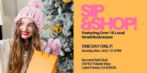 Sip-N-Shop Local OC