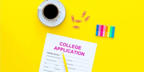 Navigating the College Application Process tickets