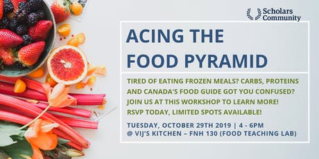 Acing the Food Pyramid (Seminar and Workshop) tickets