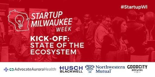 Startup Milwaukee Week 2019 Kick-off!