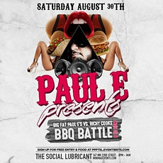 Paul E at The Social Lubricant tickets
