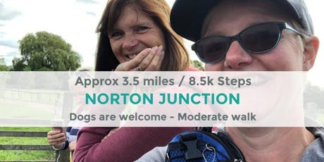 NORTON JUNCTION CANAL WALK   APPROX 3.5 MILES / 8K STEPS   MODERATE   NORTHANTS tickets