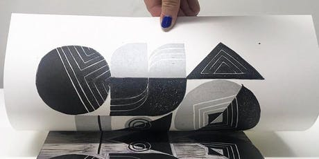 Two Color Linocut Printmaking tickets