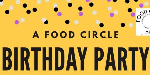 Food Circle Birthday Party